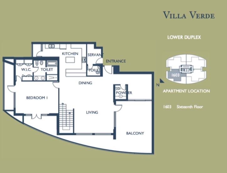 4 Bedroom Duplex (Lower Floor)
