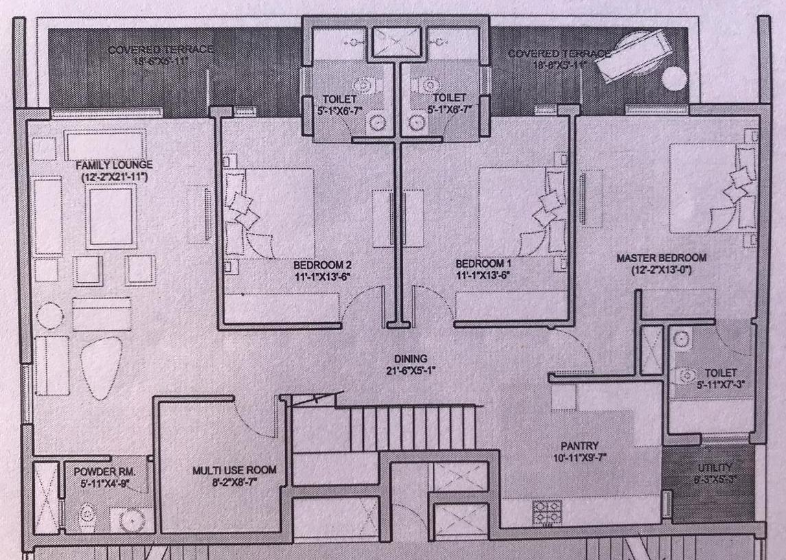 Duplex First Floor