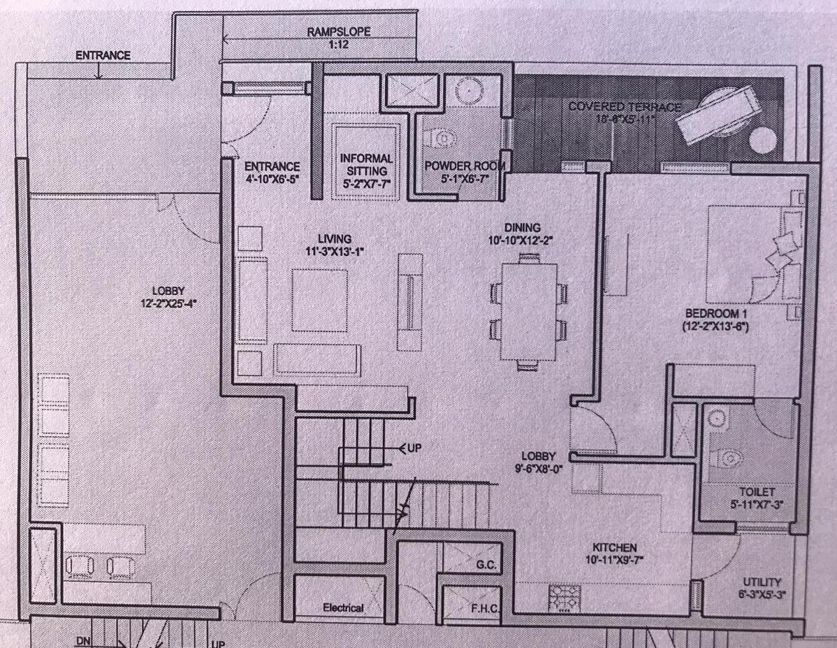 Duplex Ground Floor